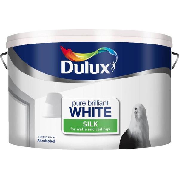 Dulux Silk Wall Paint, Ceiling Paint White 10L