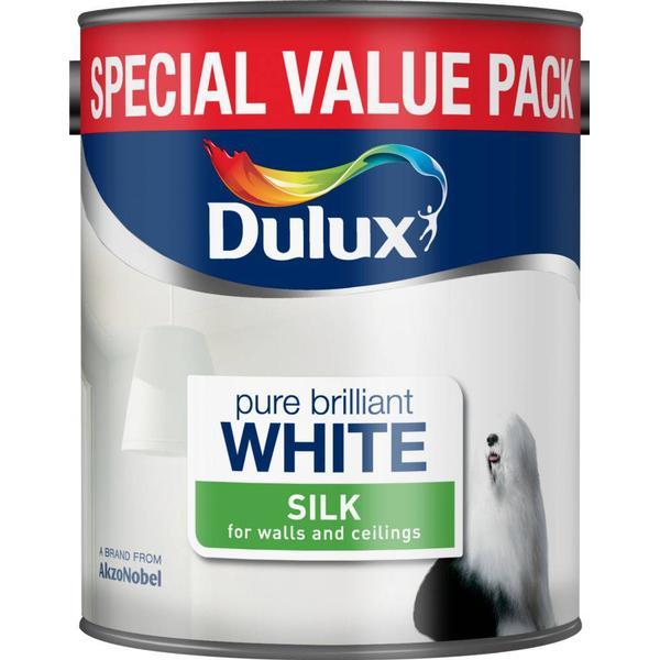 Dulux Silk Wall Paint, Ceiling Paint White 3L