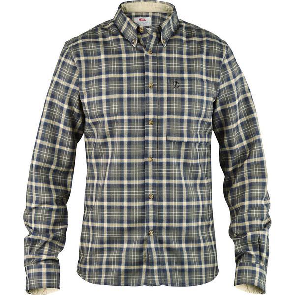 Fjällräven Stig Flannel Shirt - Black