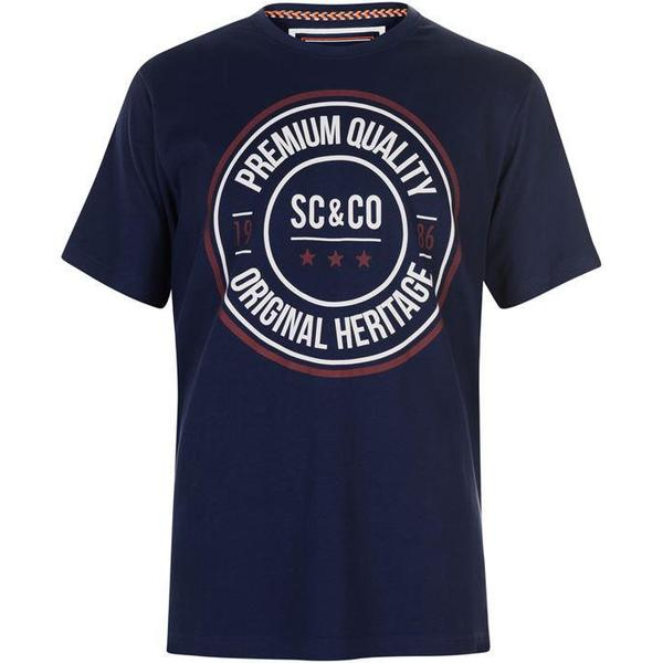SoulCal Large Logo T-shirt Navy Cirlcle