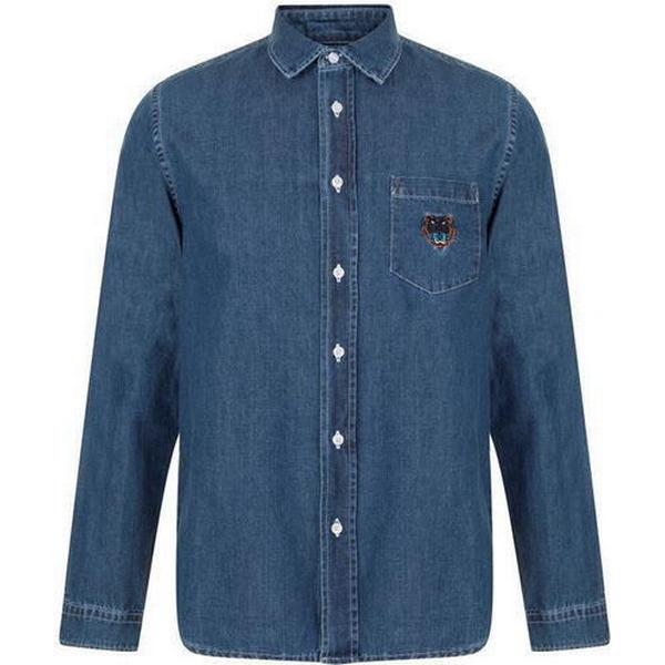Kenzo Denim Tiger Shirt Navy Blue