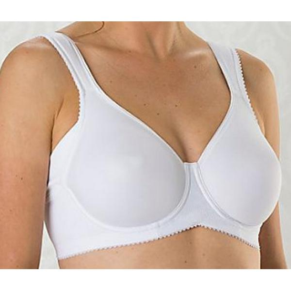 Miss Mary of Sweden Moulded Underwire Bra White (2034)
