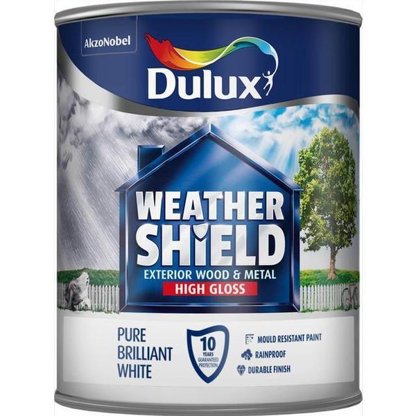 Dulux Weathershield Exterior Wood Paint, Metal Paint Purple 0.75L