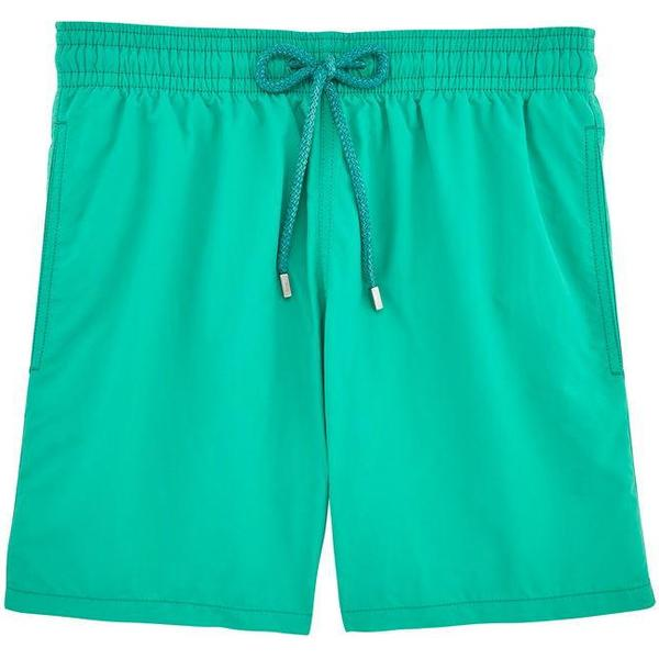 Vilebrequin Moorea Solid Swim Shorts Veronese Green