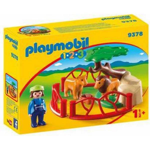 Playmobil Lion Enclosure 9378