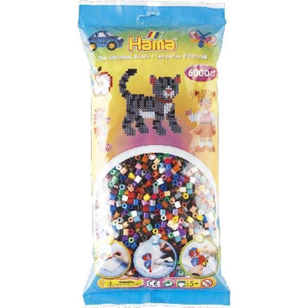 Hama Midi Beads in Bag 205-67