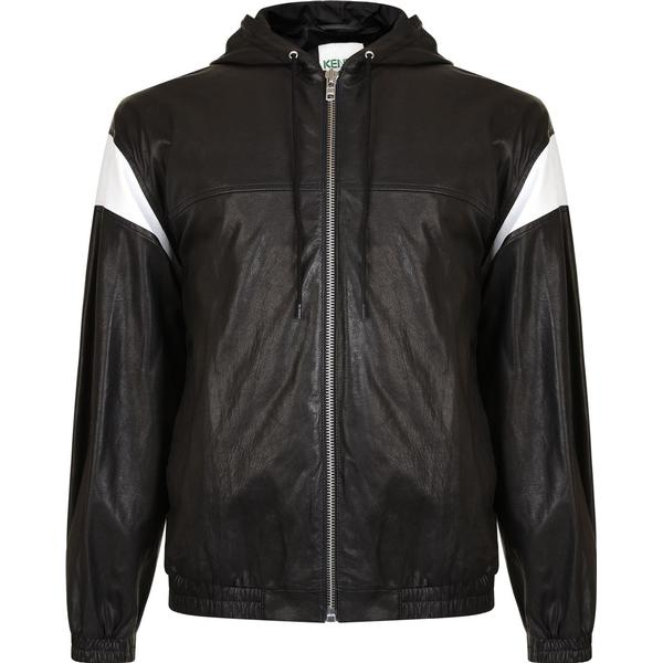 Kenzo Hyper Leather Jacket - Black