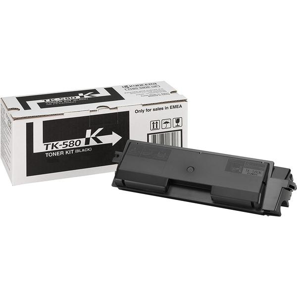 Kyocera (TK-580K) Original Toner Svart 3500 Sidor