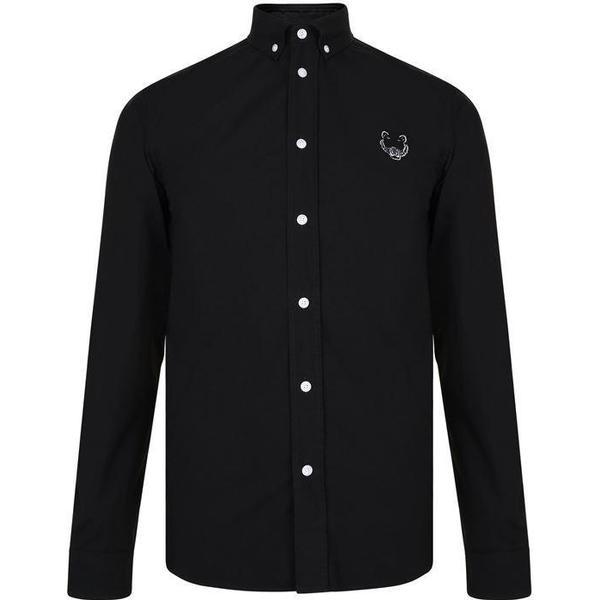 Kenzo Tiger Crest Shirt - Black