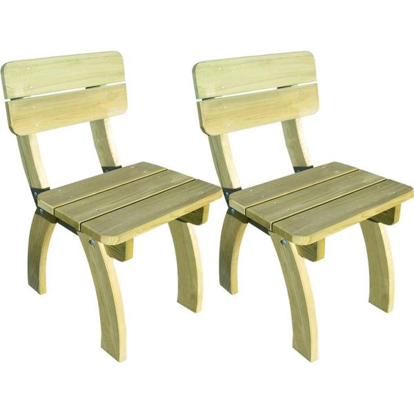 vidaXL 273755 2-pack Armless Chair