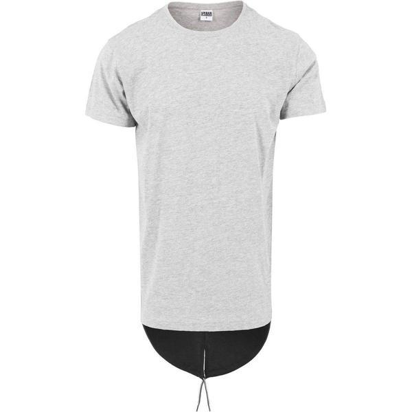 Urban Classics Long Tail Tee - Grey/Black