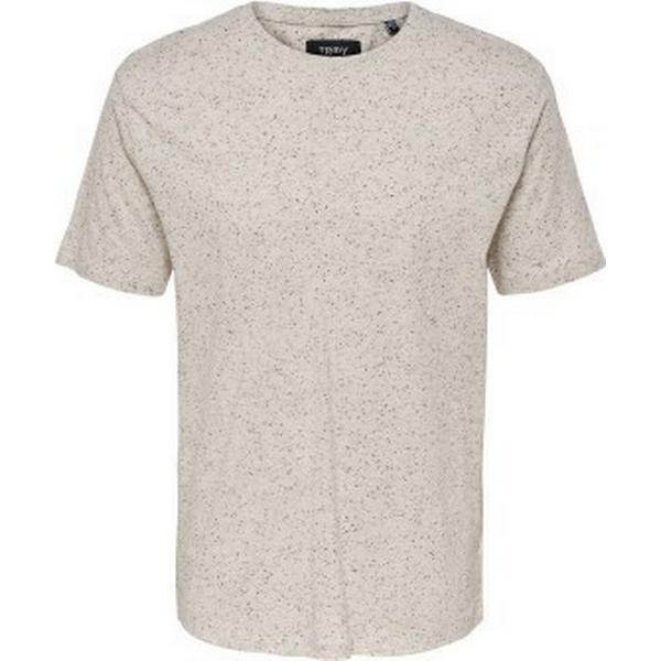 Only & Sons Short Sleeved T-shirt White/Blanc De Blanc