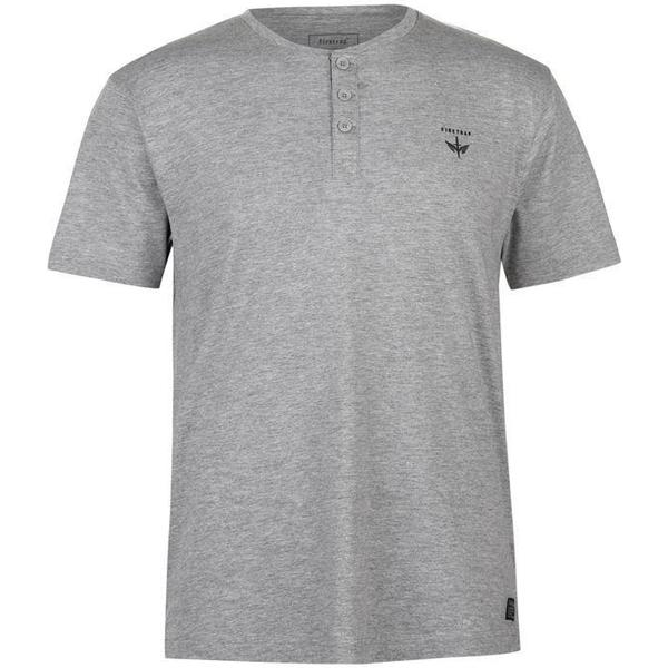 Firetrap Orbit T-shirt Grey Marl