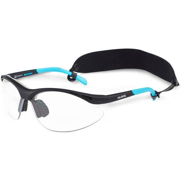 Salming Protective Eyewear Youth Black/Cyan