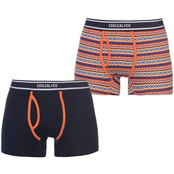 SoulCal Aztec Boxers 2-pack Orange