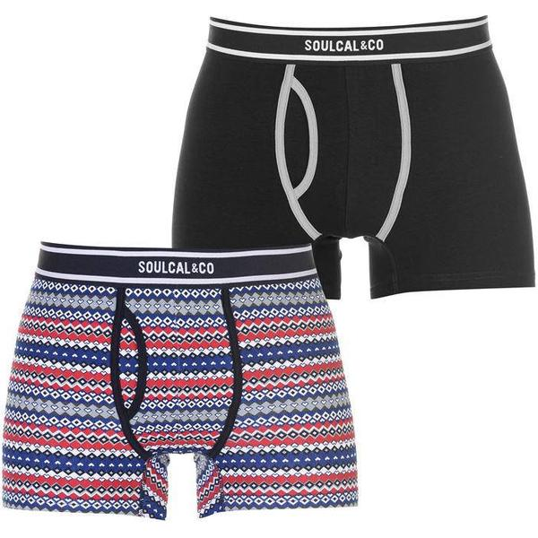 SoulCal Pattern Boxers 2-pack Red