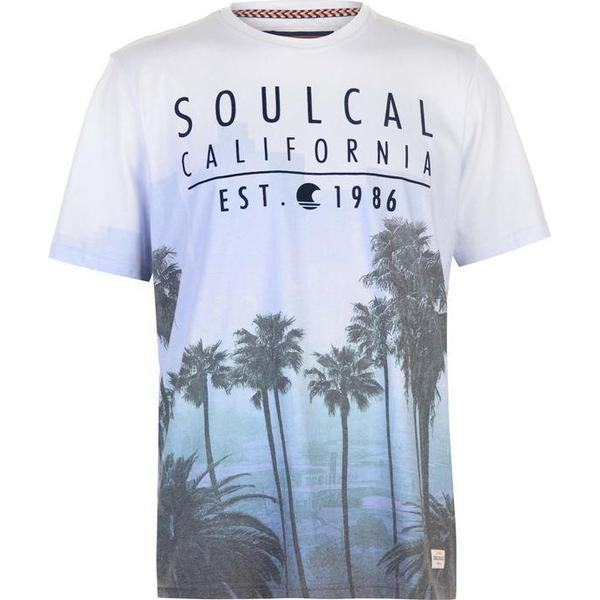 SoulCal Sublime T-shirt Blue/Purple (59909018)