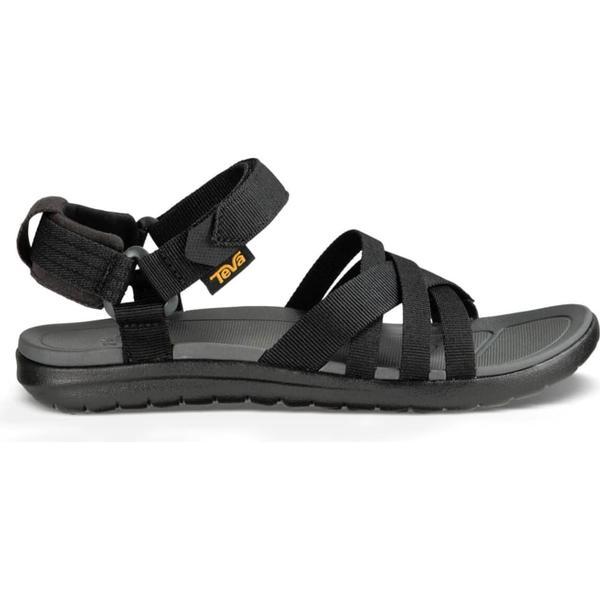 25a5871c0fae Teva Sanborn Sandal - Black - Sammenlign priser hos PriceRunner