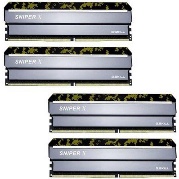G.Skill Sniper X DDR4 2400MHz 4x16GB (F4-2400C17Q-64GSXK)