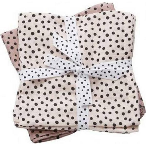 Done By Deer Burp Cloth Happy Dots 2-pack