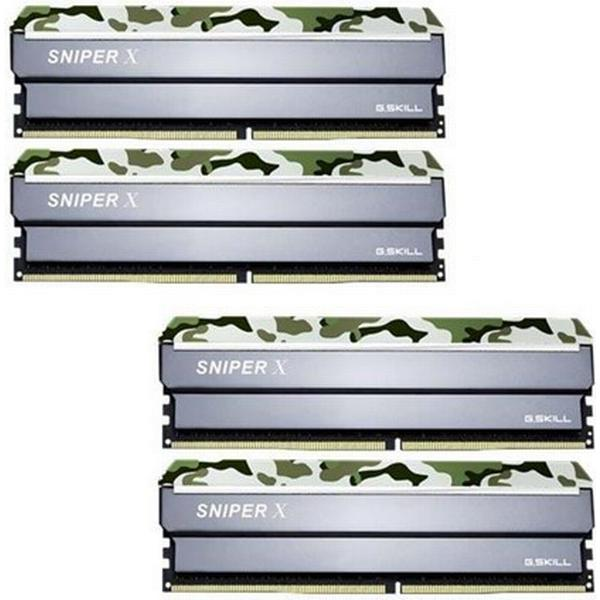 G.Skill Sniper X DDR4 2400MHz 4x16GB (F4-2400C17Q-64GSXF)