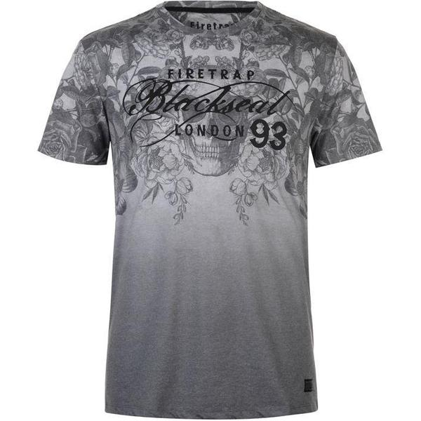 Firetrap Cascade T-shirt Grey