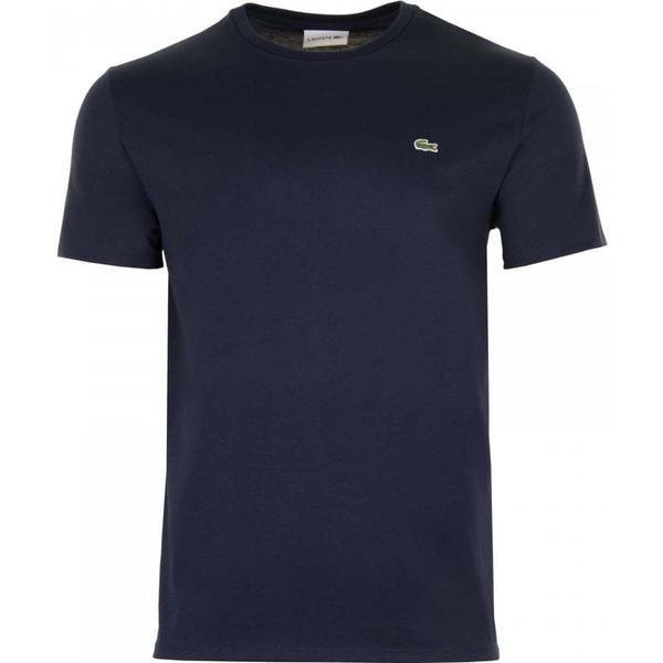 Lacoste Crew Neck Pima Cotton Jersey T-shirt - Navy Blue