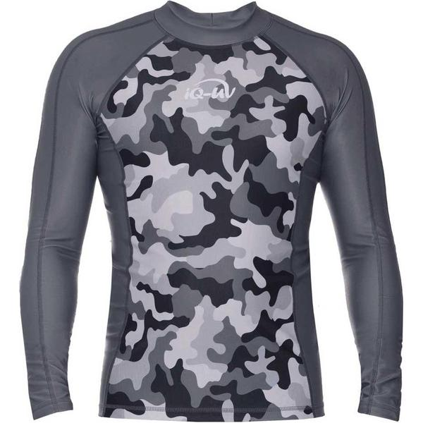 iQ-Company UV 230 Camouflage Slim Fit Full Sleeves Top M