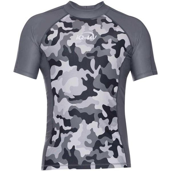 iQ-Company UV 230 Camouflage Slim Fit Short Sleeves Top M