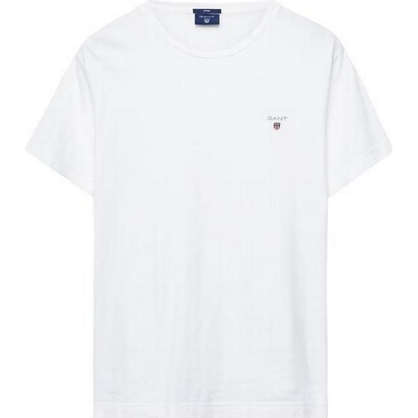 Gant Short-Sleeved T-shirt White