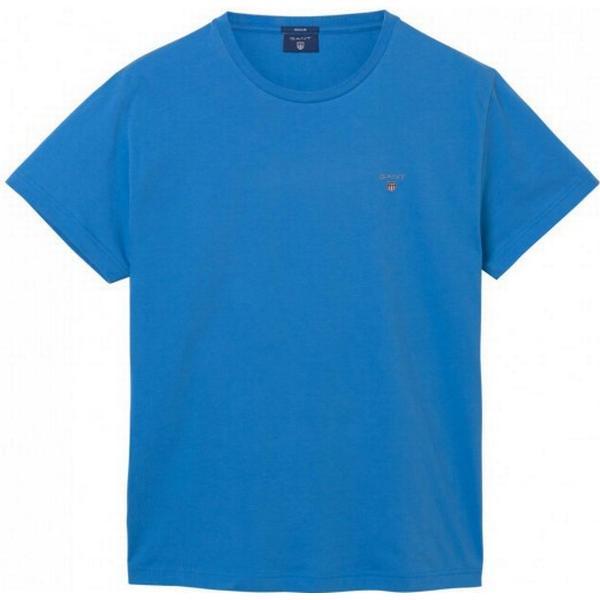 Gant Solid T-shirt Pacific Blue