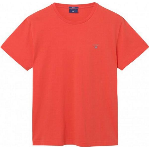 Gant Solid T-shirt Strong Coral