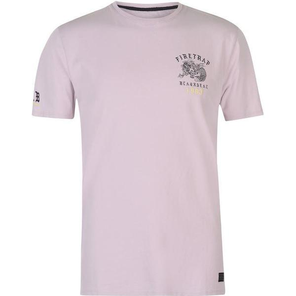 Firetrap Dragon T-shirt Pink