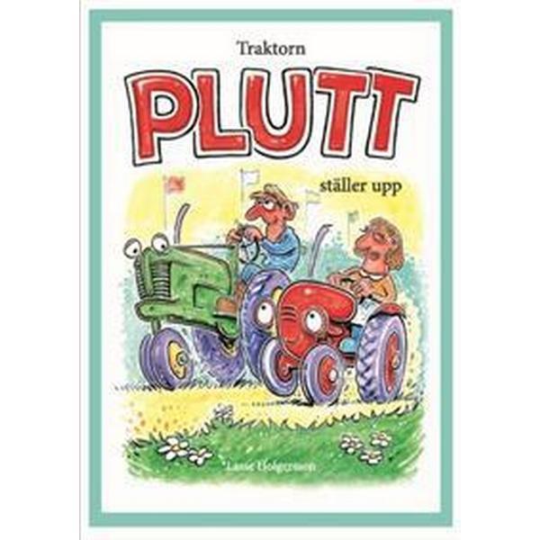 Traktorn Plutt ställer upp (Inbunden, 2018)