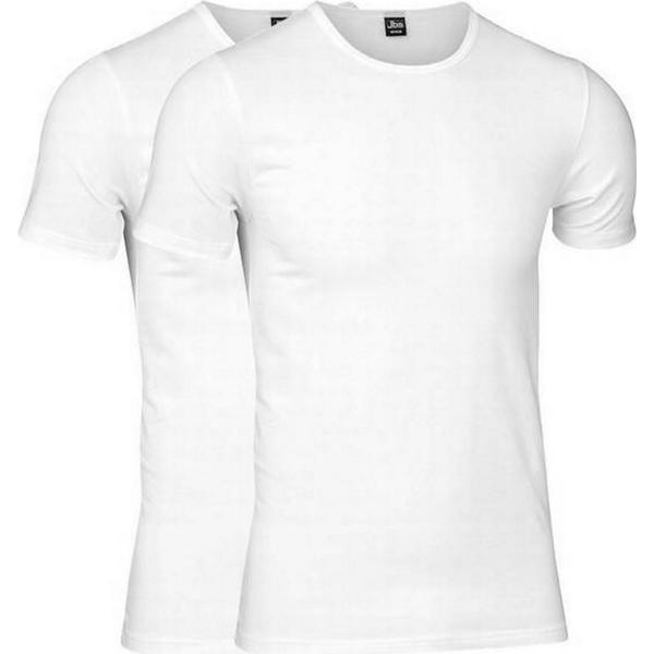 JBS T-shirt 2-pack White