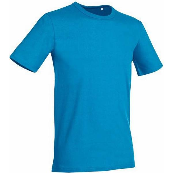Stedman Morgan Crew Neck T-shirt - Hawaii Blue
