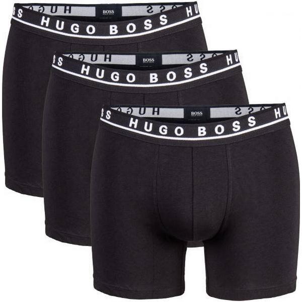 Hugo Boss Stretch Cotton Boxer 3-pack Black