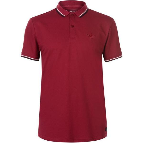 Firetrap Lazer Slim Fit Polo Shirt Rumba Red