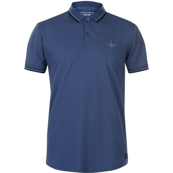 Firetrap Lazer Slim Fit Polo Shirt Ensign Blue