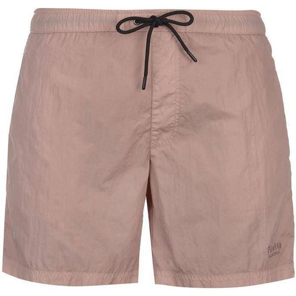 Firetrap Blackseal Dye Swim Shorts Pink