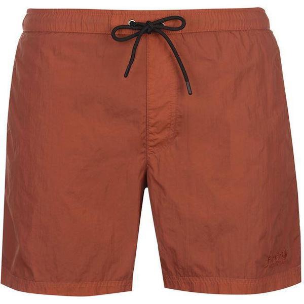 Firetrap Blackseal Dye Swim Shorts Baked Clay