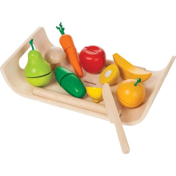 Plantoys Assorted Fruit & Vegetables