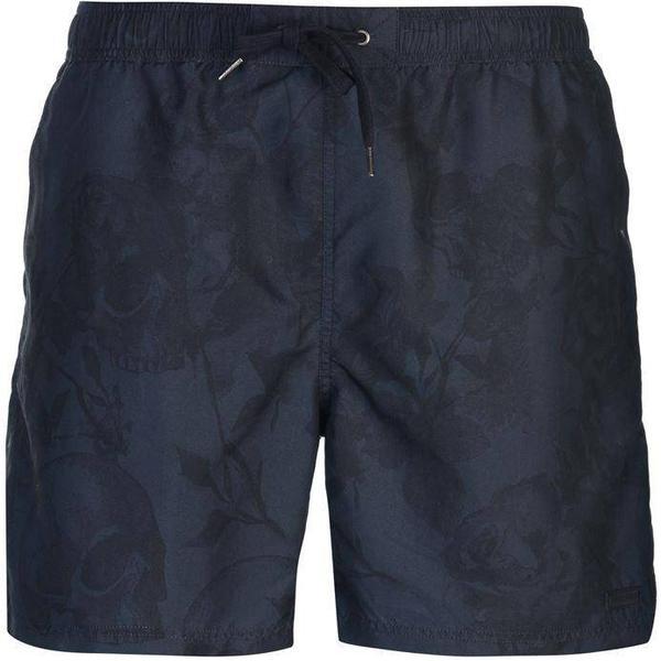 Firetrap Sub Swim Shorts - Navy Skull AOP