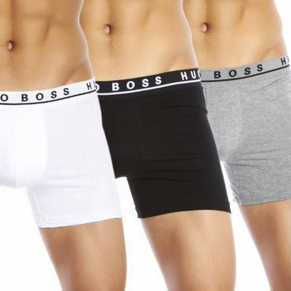 Hugo Boss Stretch Cotton Boxer 3-pack Assorted Pre Pack