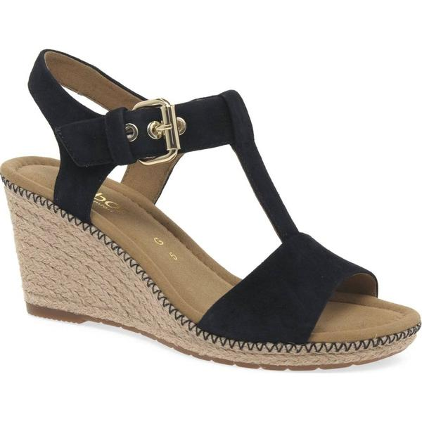 Gabor Karen Womens Suede, Modern Sandals Colour: Pacific Suede, Womens Size: 3.5 e9c3f8