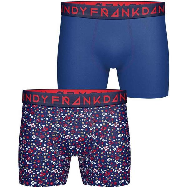 Frank Dandy Blume Boxer 2-pack Navy/Blue