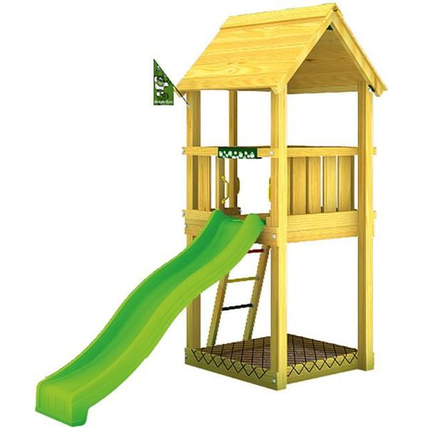 Jungle Gym Jungle Club - Legetårn med rutschebane