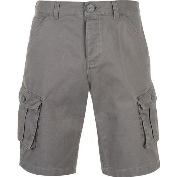 Firetrap Below the Knee Shorts Anthracite