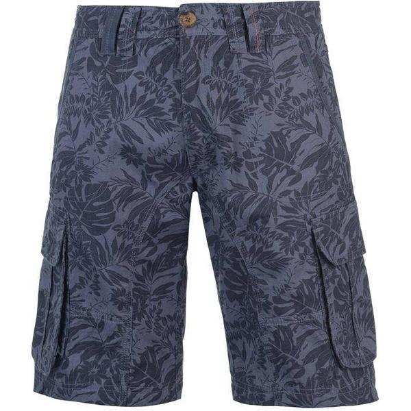 SoulCal Floral Cargo Shorts Navy