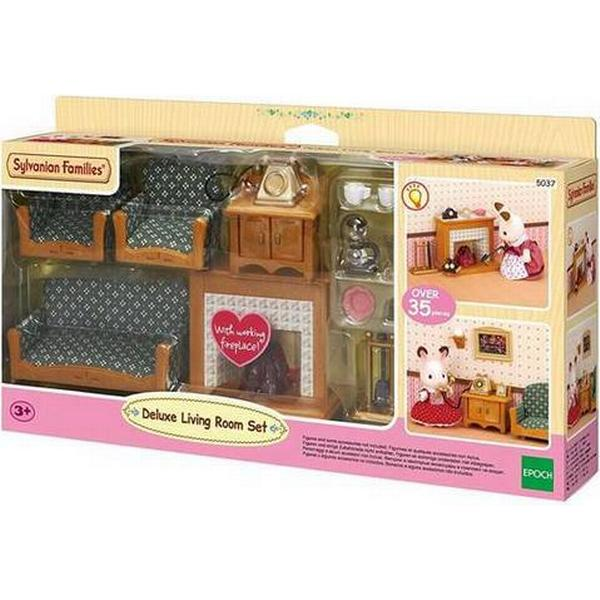 Wonderful Sylvanian Families Deluxe Living Room Set